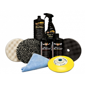 Kit Carrossier Ultra 2 Step Buffing System